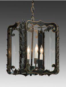 Vintage Heavy Polished Brass Wall Mount Light Fixture Leaf Design Glass Lamp