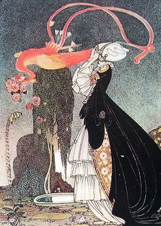 Rosanie or the Inconstant Prince 1975 Kay Nielsen Fairy Tale Illustration