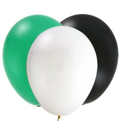 Soccer Solid Color Latex Balloon Set (21)