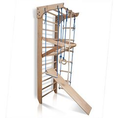 Swedish Ladder Wall Bars Gymnastic Children Wooden Kids Sport Gym Home Workout