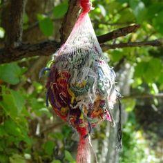 Bird nesting materials for the garden