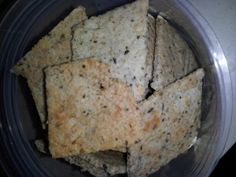 Low Carb Crackers (or breadsticks, if you make them too thick), served up by https://facebook.com/lowcarbzen