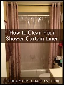 how to clean plasticvinyl shower curtains or bath mats gets rid of
