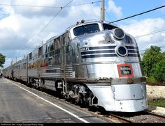 CBQ 9911-A and the Nebraska Zephyr wait to depart east out of the IRM depot.