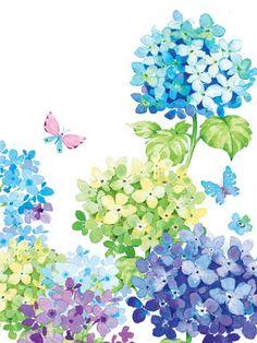 Liz Yee - Flower Card