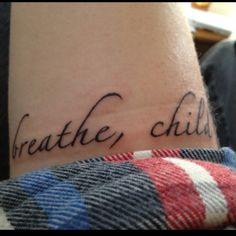 tattoo, word tattoo, phrase tattoo, quote tattoo, body art, tattoo placement