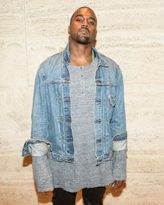 As much I love you yeezy, you need a new jacket.