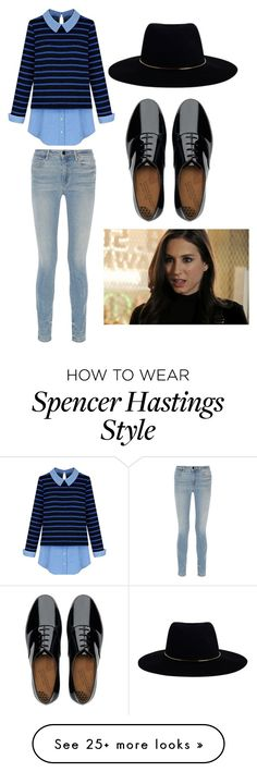 """""""Spencer Hastings (Pretty little liars)"""" by taryngallion on Polyvore featuring Alexander Wang, FitFlop and Zimmermann"""
