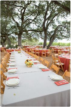 Rustic Italian Themed Wedding. i like the look, but the tables are lacking they need more going down the middle