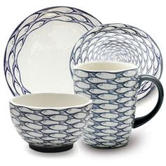 Jersey Pottery Sardine Run Dinnerware Collection at Heal's