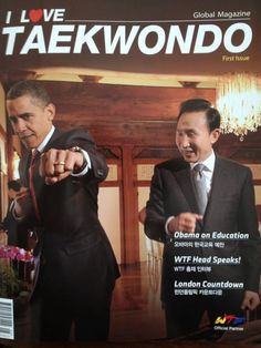 Obama Loves Taekwondo.