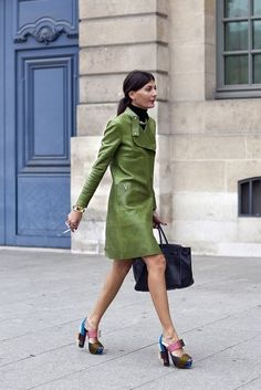 Giovanna Battaglia Street Style & More Details. women's fashion and street style.