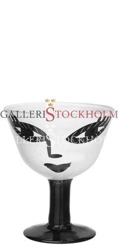 Ulrika Hydman-Vallien - Glaskonst - Open minds skål på fot beställ direkt online på www.galleristockholm.se