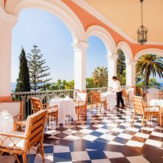 Looking for restaurants in Funchal? Anticipate a spectacular dining experience at Belmond Reid's Palace, home to some of the top Madeira restaurants. Hotels In Portugal, Portugal Travel, Portugal Trip, Algarve, Days Hotel, Funchal, Travel And Leisure, Amalfi, Savages