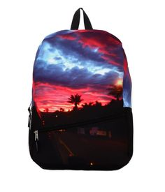 Pin for Later: Palm Prints Are Bringing the Sun and Fun to Our Weekend Mojo Malibu Sunset Backpack Mojo Malibu Sunset Backpack ($48)