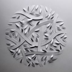Minimalist Papercut Illustrations on Behance