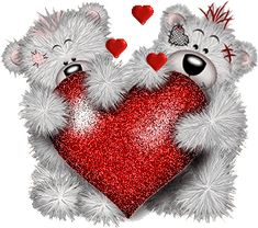 Forever friends Graphics and Animated Gifs Happy Valentines Day Sms, Valentines Day Bears, Vintage Valentines, Love Valentines, Valentine Day Cards, Valentine Images, Happy Birthday, Blue Nose Friends, Bear Graphic