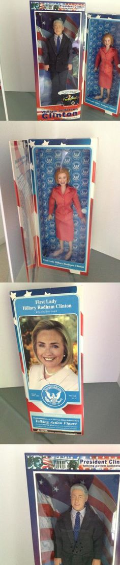 Hillary Clinton: Hillary Clinton Candidate And President Bill Clinton 12 Action Figures Nimsb Rare BUY IT NOW ONLY: $260.0 #priceabateHillaryClinton OR #priceabate