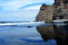 Cala de Peñón Bermejo, Gran Canaria Fotografía de Wild Horses Pic From facebook Discovering Gran Canaria