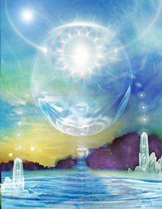I meditate on a photograph and something magical happens, I see that person's connection to the Divine Universe. Star Family, Star Children, Epic Art, Visionary Art, Atlantis, Healer, Ethereal, Astronomy, Surrealism
