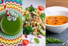 Suco, salada e sopa: aprenda 3 receitas detox para começar o projeto verão
