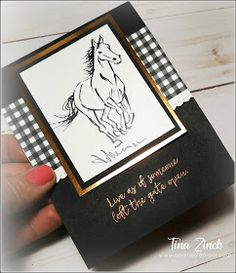 Let it Ride stamp set Fun Fold Cards, Diy Cards, Men's Cards, Horse Cards, Westerns, Stamping Up Cards, Animal Cards, Masculine Cards, Homemade Cards