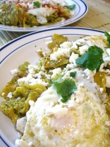 Making Chilaquiles tonight. Mexican comfort food!