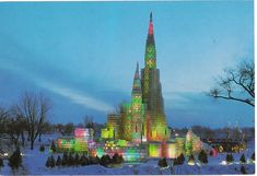St. Paul Winter Carnival Ice Palace