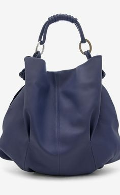 Giorgio Armani Persian Blue Handbag | VAUNTE