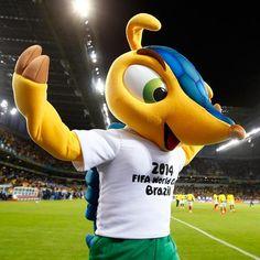 Os mascotes das Copas | #Copa2014 #futebol