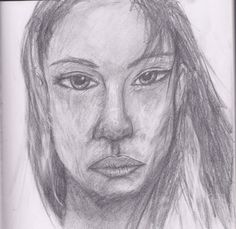 Another bad practice face. Lots of issues with poor Angelina. Bad Fan Art, Angelina Jolie, Deviantart, Face