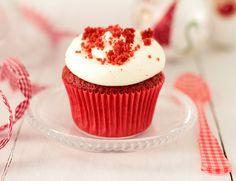 Postreadicción galletas decoradas, cupcakes y pops: Cupcakes Red Velvet