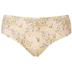 Charlotte Russe Floral Laser Cut Hipster Panties ($3.49) ❤ liked on Polyvore featuring plus size women's fashion, plus size clothing, plus size intimates, plus size panties, multi, seamless thong, hipster panty, floral print panties, plus size thongs and women's plus size panties