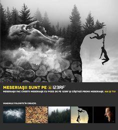 "2nd Prize: ""They go, we go!"" by  Grigore Andrei Emilian. Meseriașii sunt pe 123RF!"