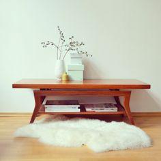Vintage Danish Design Couchtisch/Coffeetable von LeFlair  auf DaWanda.com