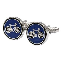 Cycling #cufflinks - blue #bicycle #cufflinks #edition,  View more on the LINK: 	http://www.zeppy.io/product/gb/2/282098750829/