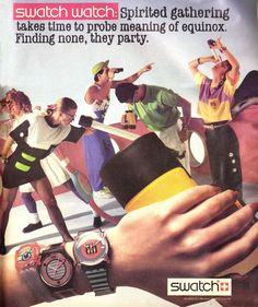 1988 Swatch print ad!