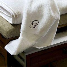 Luxor Linens Giovanni 3 Piece Towel Set Monogram Color: Gold, Monogram Letter: M
