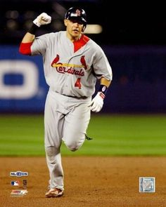 9c49593258c86f Yadier Molina - 2006 NLCS Game 7   Home Run Photo Print (16 x 20)