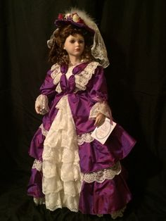 Hey, I found this really awesome Etsy listing at https://www.etsy.com/listing/206928498/28-vanessa-court-of-dolls-porcelain