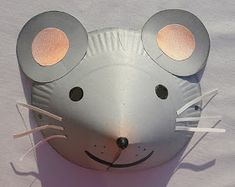 Alice Bricole: Masques Paper Plate Crafts For Kids, Easter Crafts, Mouse Mask, Lion Craft, Bear Crafts, Chinese New Year 2020, Animal Masks, Nursery Rhymes, Getting Things Done