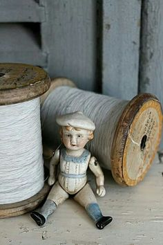 ♥♥ old sewing supplies  ♥♥