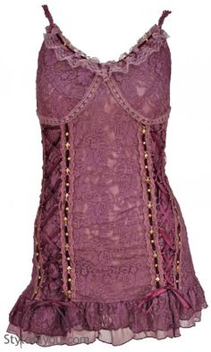 AP Victory Camisole In Mauve