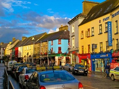 The vibrant city of Galway, Ireland