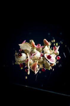 RESTAURANT JAN | Figs + cream | Nice, France #onemichelinstar