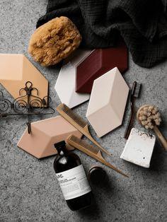 Bathroom goodies - via cocolapinedesign.com