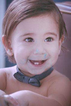 Photoshoot kids baby cake