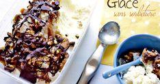Recette de glace facile et rapide sans sorbetière, à base de crème fouettée et de lait concentré sucré.