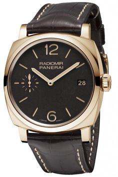 Panerai Radiomir 1940 3 Days Oro Rosso (PAM00515). Revisiting a piece of Italian naval history
