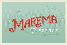 Marema Typeface by AF Studio on Creative Market